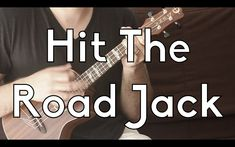 Hit The Road Jack - Easy Ukulele Lesson - Ray Charles - Play-a-longs w/T...