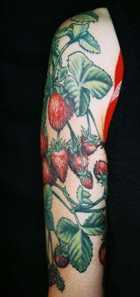 strawberry bush tattoo - Google Search