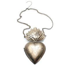 Milagro Heart Wall Charm