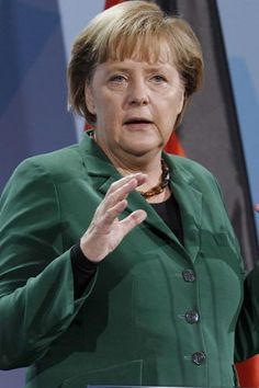 Angela Merkel - 50 Women Who Changed The World | Stylist Magazine
