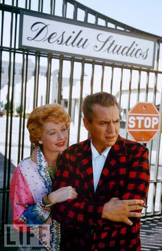 Lucy and Desi....I think this is the BEST picture I've seen of them together. <3