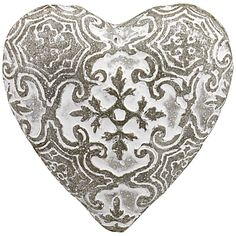 Add some texture into your home with these elegant stone hearts from John Lewis. £10