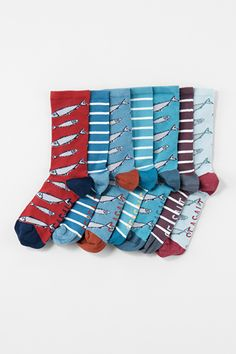 a69ae1b40f8 Box O' Socks Womens #seasaltcomfortandjoy Nautical Socks, Comfort And Joy, Sea  Salt