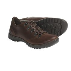 Leather Lace Oxford Shoes Women