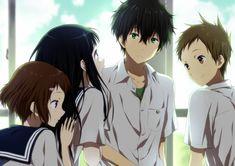 Tags: Rito, Hyouka, Chitanda Eru, Fukube Satoshi, Ibara Mayaka, Oreki Houtarou