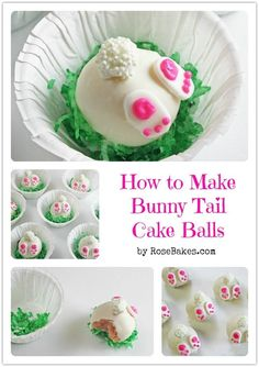 Bunny tails http://www.pinterest.com/ahaishopping/