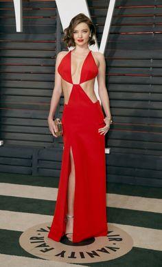 Великолепная Миранда Керр (Miranda Kerr) на вечеринку журнала Vanity Fair