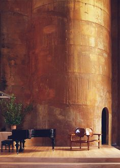 the cement factory by ricardo bofill, catalonia, spain