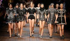 Dolce&Gabbana Fall Winter 2014-2015 Womens fashion show photos all the looks