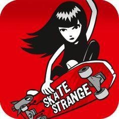 Emily the Strange. Skate!