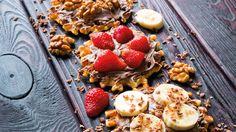 Einfach zubereitet & echt köstlich ✔ Selbstgemachte Waffeln mit fischen Früchten ✔ Ein Dessert für die ganze Familie ✔ Zum Rezept ➡ meinheimvorteil