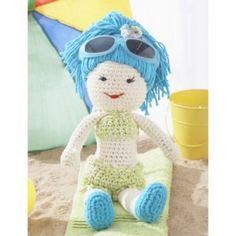 Fun in the Sun Doll Free Crochet Pattern