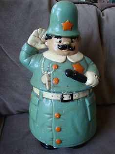 COACH SIGNATURE SATEEN BROOKE, Style #F17183, Silver/Khaki/White. Vintage Cookie JarsKitchen ...