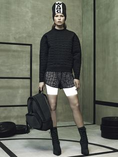 60fcb42861033 Alexander Wang s capsule collection for H M. The collection doesn t land in  stores until November photo by Mikael Jansson-lensed ad campaign.
