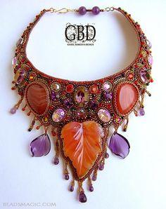 Beautiful Atumn inspiration jewelry   Beads Magic