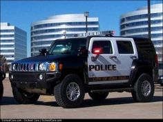 2006 Hummer H3 Police Car in Colorado - http://sickestcars.com/2013/05/28/2006-hummer-h3-police-car-in-colorado/