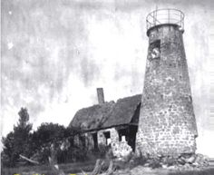 Bodkin Island Lighthouse (Tower collapsed 1914, island has now disappeared)