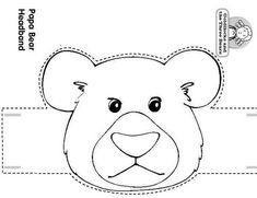 Craft a Fairy Tale ...Papa Bear Headband ....Goldilocks and the Three Bears…