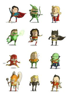 DC Superheroes •Ben Scruton