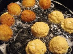 salmon fritters - use corn meal