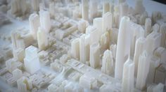 3D printed model of San Francisco - making of. Behind the scenes 3D printed model of San Francisco:   Autodesk and Steelblue have partnered ...