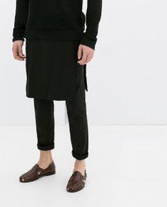 Zara - Skirt Over Pants