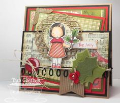 My Favorite Things Stamps - Be Jolly - PI Holly Girl