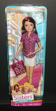 Barbie Sisters' Fun Day Skipper Doll NEW MIB! #DollswithClothingAccessories