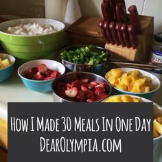 How I made 30 Days of Meals in One Day / freezer meals / paleo / deep freezer / whole food / real food / meal preparation