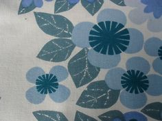 vintage cotton CURTAIN pattern by Colleen Farr