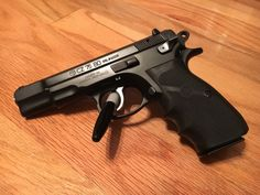 CZ-75BD with Hogue grips