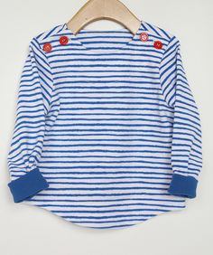 Sailboat top in knit