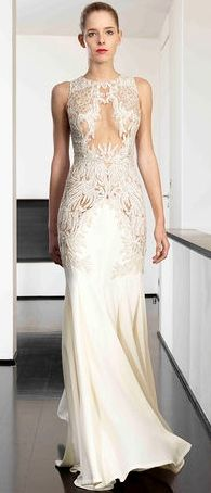 Dany Atrache Couture Spring-Summer 2014  Glamour Gown