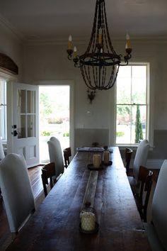 My Sweet Savannah: ~a sonoma dining room~