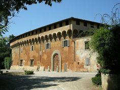 """""""Villa di Careggi"""".  Vilas dos Médici. # Firenze, Itália."""