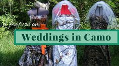 Thinking of a camo-themed wedding? Let Weddings in Camo help create your dream camo wedding dress on your big day! Get your whole entourage outfitted in camo formals too! Camo Formal, Camo Wedding Dresses, Entourage, Big Day, Create Yourself, Weddings, Christmas Ornaments, Holiday Decor, Check