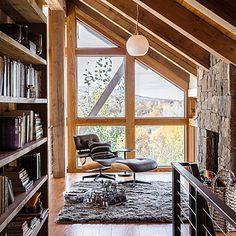 Loft - Net-Zero Home Design Ideas from Steamboat Colorado - Sunset