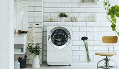 空間調和と機能性の両立する、ななめドラム洗濯機「Cuble」を発表|Panasonic+ギャラリー