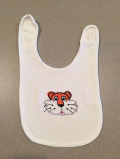 Tiger Head Bib