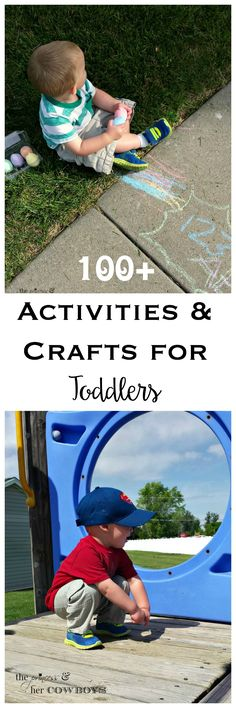 100+ Activities & Crafts for Toddlers l The Princess & Her Cowboys