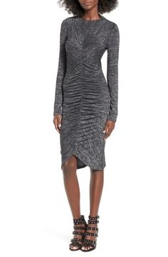 Leith Ruched Front Dress | Nordstrom-ON SALE