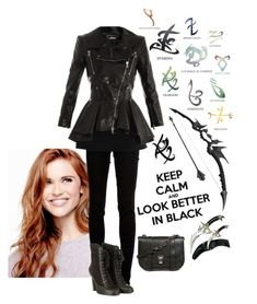 """""""Shadowhunter OC"""" by laceyleanne18 ❤ liked on Polyvore featuring dVb Victoria Beckham, Alexander McQueen, rag & bone, Proenza Schouler, women's clothing, women's fashion, women, female, woman and misses"""