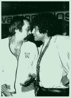 Paulo Leminski e Wally Salomão, dois poetas no Rio de Janeiro em 1978. Veja mais em: http://semioticas1.blogspot.com.br/2013/02/poeta-leminski.html
