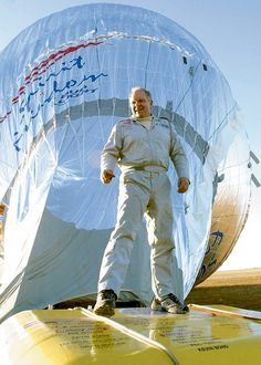 July 2,2002 – Steve Fossett becomes the first person to fly solo around the world nonstop in a balloon.