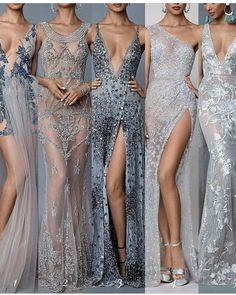 long prom dresses - long prom dresses With Slit Pink Event Dresses, Occasion Dresses, Prom Dresses, Formal Dresses, Couture Dresses, Fashion Dresses, Silver Gowns Couture, Pretty Dresses, Beautiful Dresses