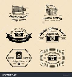 stock-vector-vector-set-of-vintage-camera-logo-hand-sketched-logotypes-collection-with-retro-photo-camera-291579875.jpg (1500×1600)