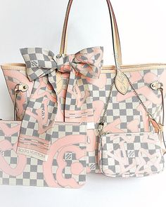 New items added, Louis Vuitton Damier Neverful Bandouliere Handbag