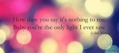 Love John Mayer