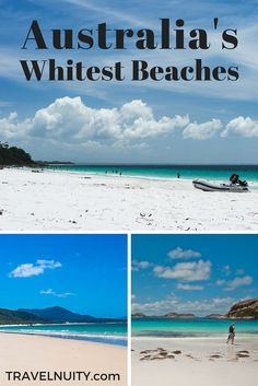 What's the whitest beach in Australia? Here are three contenders that make sunglasses compulsory...