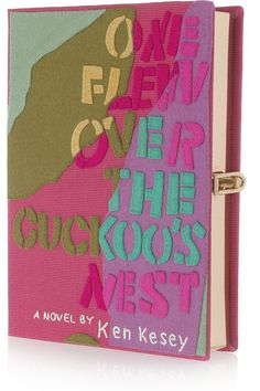 Olympia Le-Tan Clutch  As Susie Bubble says, don't carry it if you haven't read the book. lol